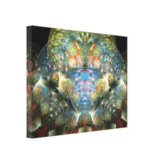 Stuffed Croc Gallery Wrap Canvas