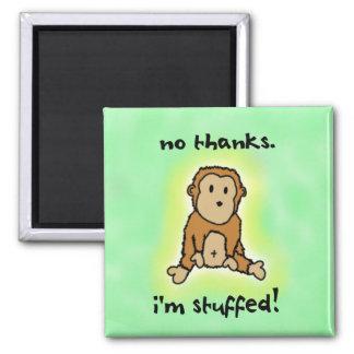 Stuffed Monkey Magnet