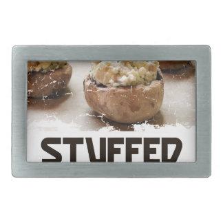 Stuffed Mushroom Day - Appreciation Day Belt Buckle