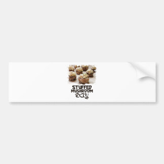 Stuffed Mushroom Day - Appreciation Day Bumper Sticker