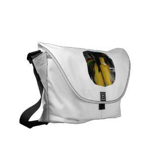 Stuffed rasta banana at fairgrounds courier bag