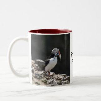 Stuffin' puffin mug