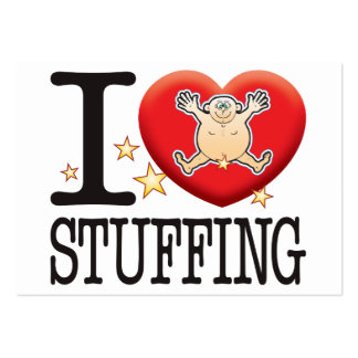 Stuffing Love Man Pack Of Chubby Business Cards