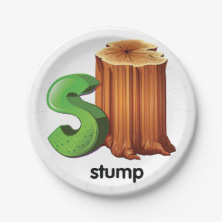 Stump Paper Plates