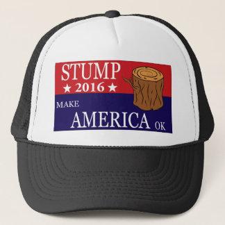 Stump trucker hat