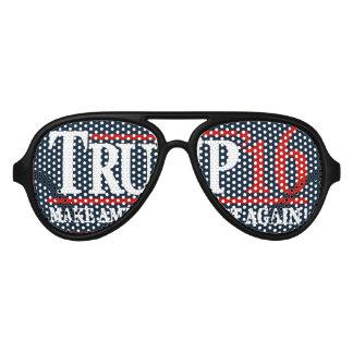 Stumping for Trump Sunglasses! Trump 2016 Aviator Sunglasses