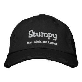 Stumpy,  Man, Myth, and Legend. Embroidered Baseball Cap