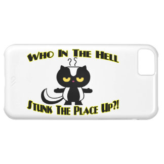 Stunk The Place Up Skunk iPhone 5C Cover