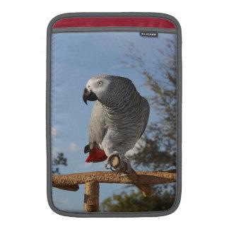 Stunning African Grey Parrot MacBook Air Sleeves