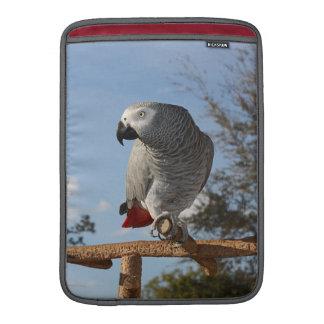 Stunning African Grey Parrot MacBook Sleeve