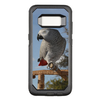 Stunning African Grey Parrot OtterBox Commuter Samsung Galaxy S8 Case