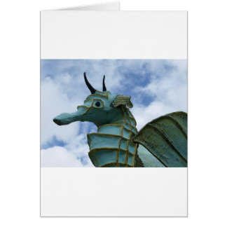 Stunning Artistic Seahorse Design Card