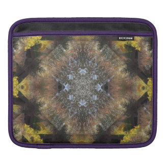 Stunning Autumn Riverbank Mandala iPad Sleeve