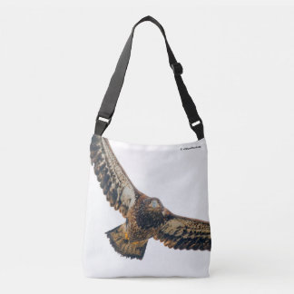 Stunning Bald Eagle Does a Flyover Crossbody Bag