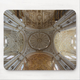 Stunning baroque church ceiling mouse pad