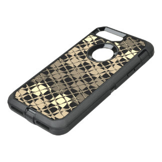 Stunning Black pattern OtterBox Apple iPhone 7 OtterBox Defender iPhone 7 Plus Case