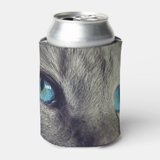 Stunning Blue Cat's Eyes Can Cooler