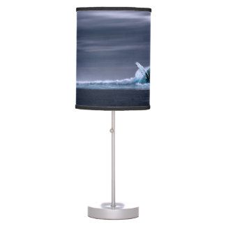 Stunning blue whale table lamp