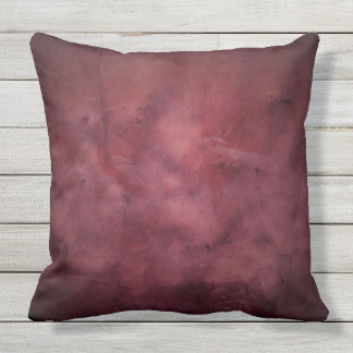 STUNNING BURGUNDY DISTRESSED TEXTURE Throw Cushion