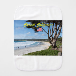 Stunning! CARMEL CALIFORNIA USA Burp Cloth