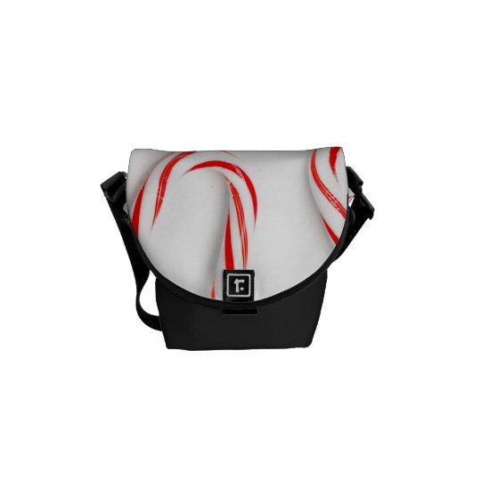 Stunning Christmas Candy Canes Commuter Bag