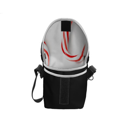 Stunning Christmas Candy Canes Courier Bag
