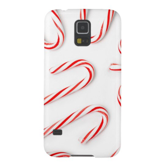Stunning Christmas Candy Canes Galaxy S5 Cases