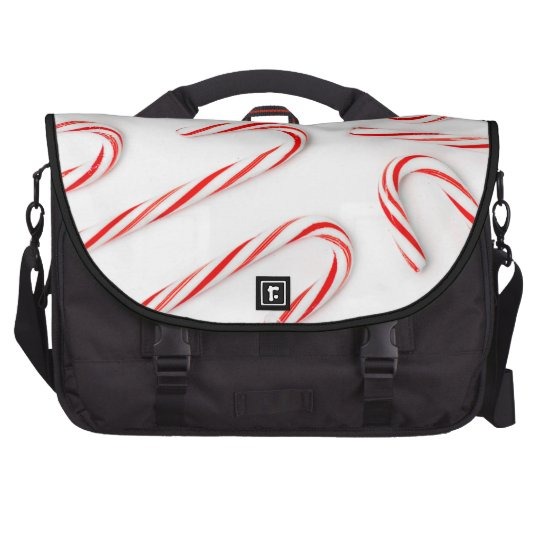 Stunning Christmas Candy Canes Laptop Bags