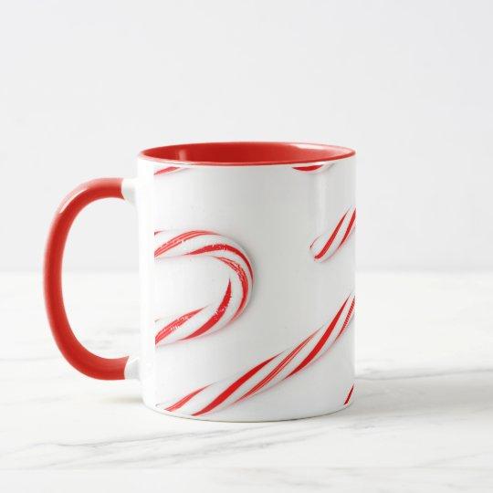 Stunning Christmas Candy Canes Mug