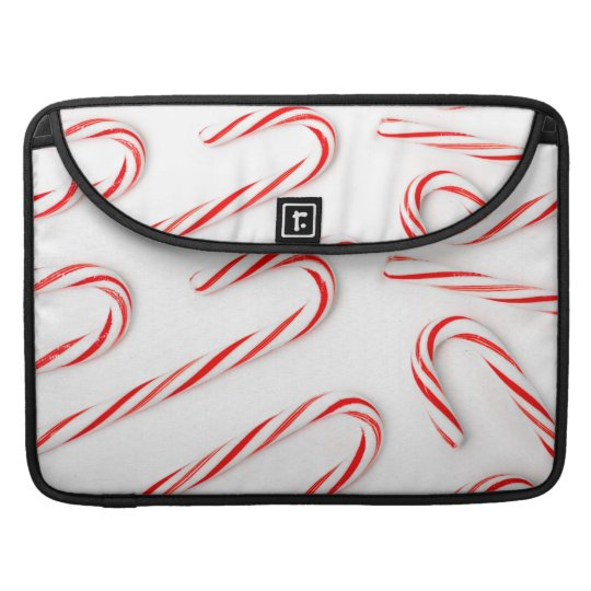 Stunning Christmas Candy Canes Sleeve For MacBook Pro
