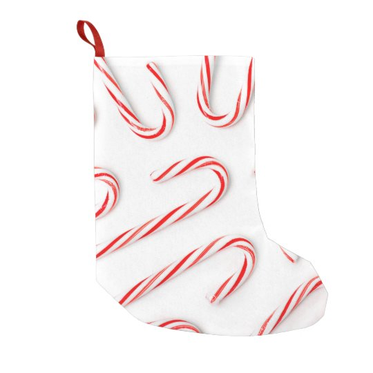 Stunning Christmas Candy Canes Small Christmas Stocking