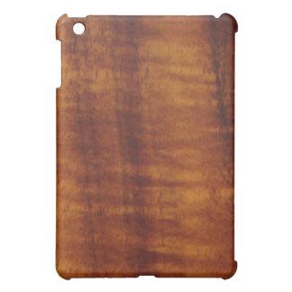 Stunning Curly Hawaiian Koa Longboard Style Cover For The iPad Mini