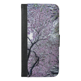 🌸↷Stunning Dazzling Cherry Blossoms Fabulous iPhone 6/6s Plus Wallet Case