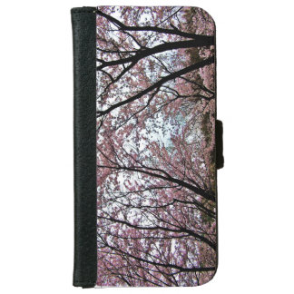 🌸↷Stunning Dazzling Cherry Blossoms Fabulous iPhone 6 Wallet Case