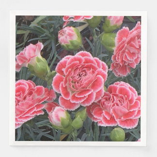 Stunning Dianthus Disposable Napkins