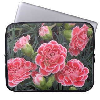 Stunning Dianthus Laptop Sleeves