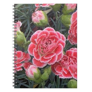 Stunning Dianthus Notebooks
