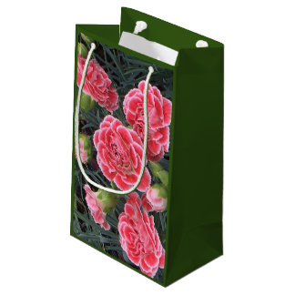 Stunning Dianthus Small Gift Bag
