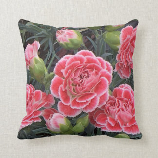 Stunning Dianthus Throw Pillow