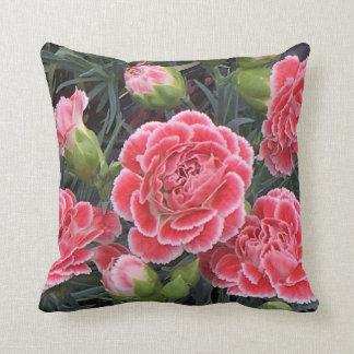 Stunning Dianthus Throw Pillow