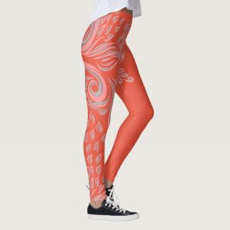 Stunning floral pattern legging by virtueoffashion