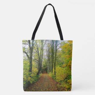 Stunning Forest Print Tote Bag