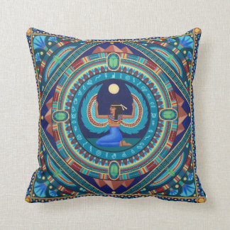 Stunning Goddess Isis cushion by Soozie Wray