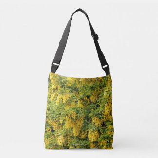 Stunning Golden Chain / Laburnum Tree Crossbody Bag