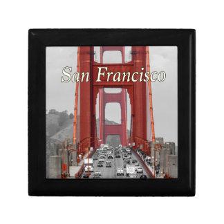 STUNNING! GOLDEN GATE BRIDGE CALIFORNIA USA TRINKET BOX