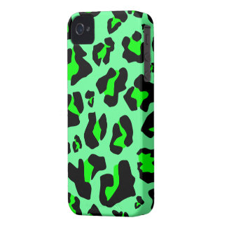 Stunning Green Leopard Print - iPhone 4/4s Case