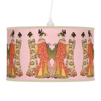 Stunning Japanese Art Design Rice Paper Lamp