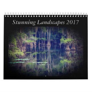 Stunning Landscape Calendar 2017