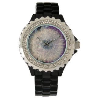 Stunning Magical Dandelion Head Watch
