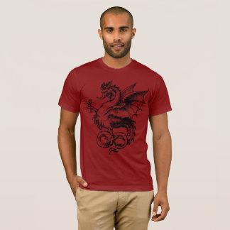 Stunning Men's Dragon American Apparel T-Shirt